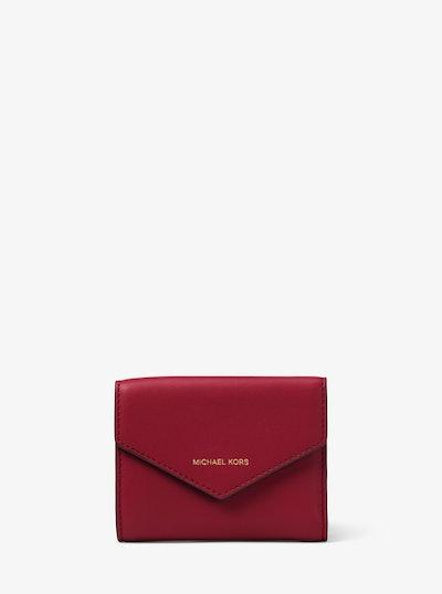 Jet Set Small Leather Envelope Wallet