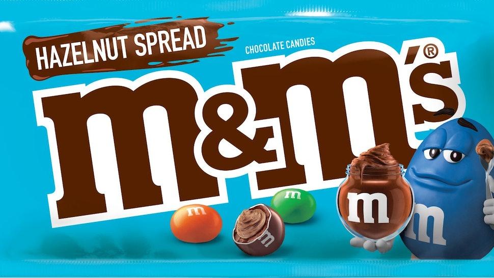 Hazelnut Spread Mms Are Basically Nutella Flavored Sound