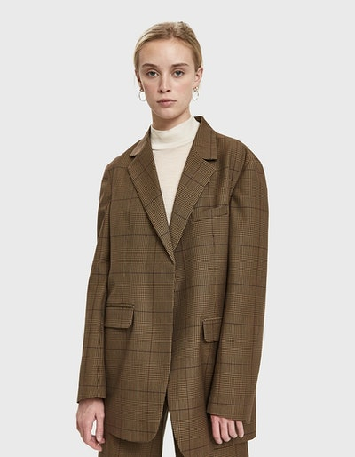 Jeanette Check Jacket