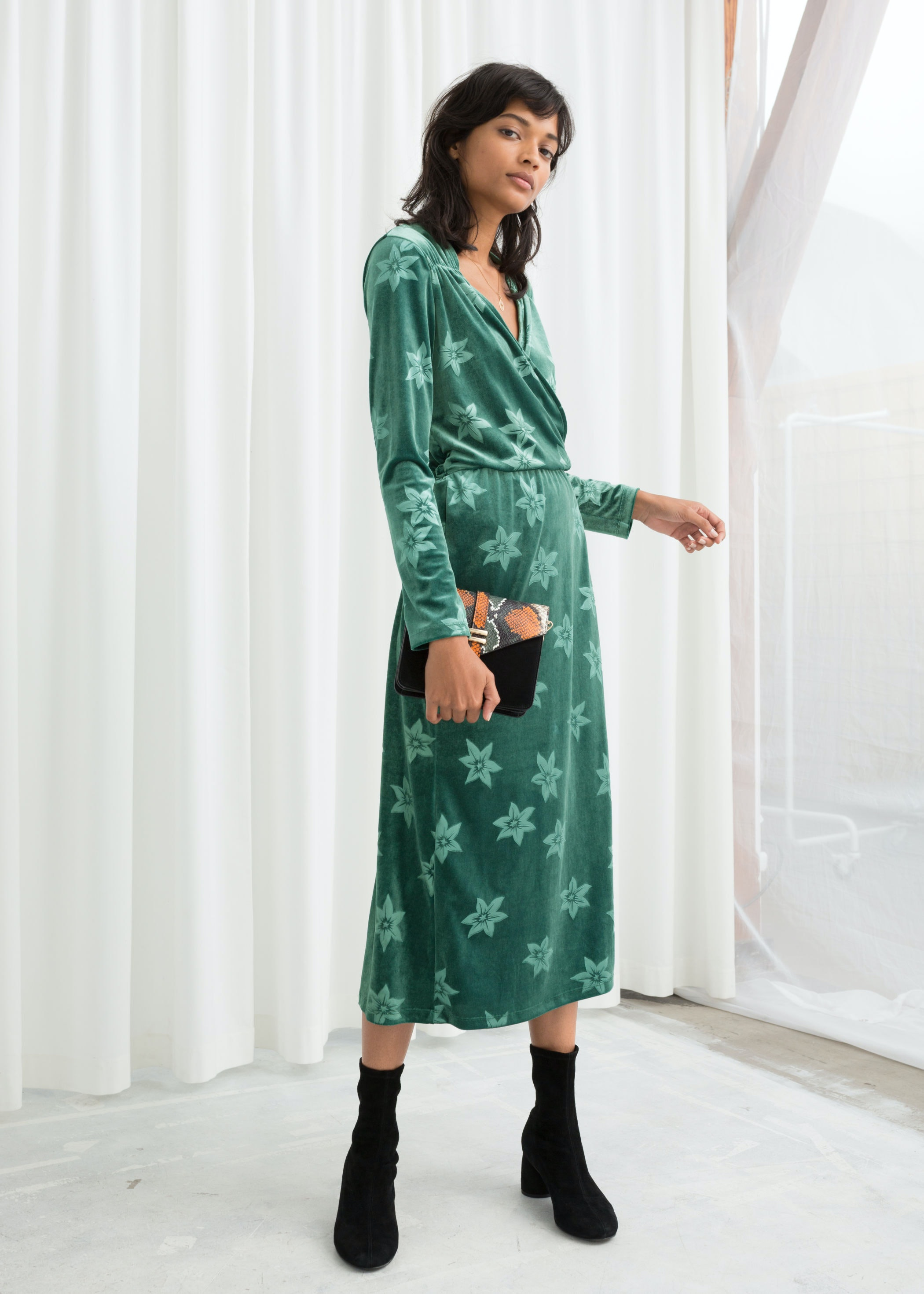 6f0ecd52c5 15 Fall Wedding Guest Dresses Under  150 You ll Love In   Other Stories   New Arrivals