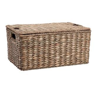 Charleston Lidded Storage Basket