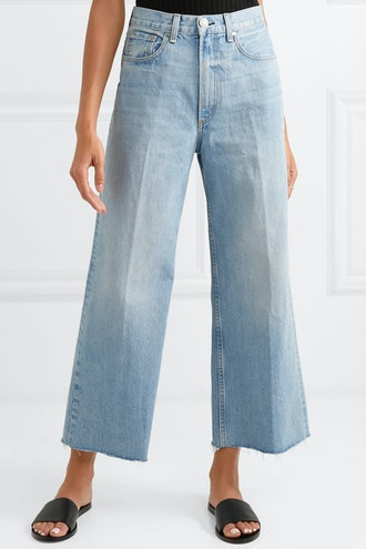 Haru High-Rise Wide-Leg Jeans