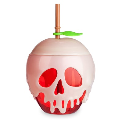 Snow White Poisoned Apple Tumbler With Straw