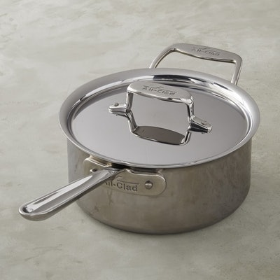 All-Clad d5 Stainless-Steel Saucepan