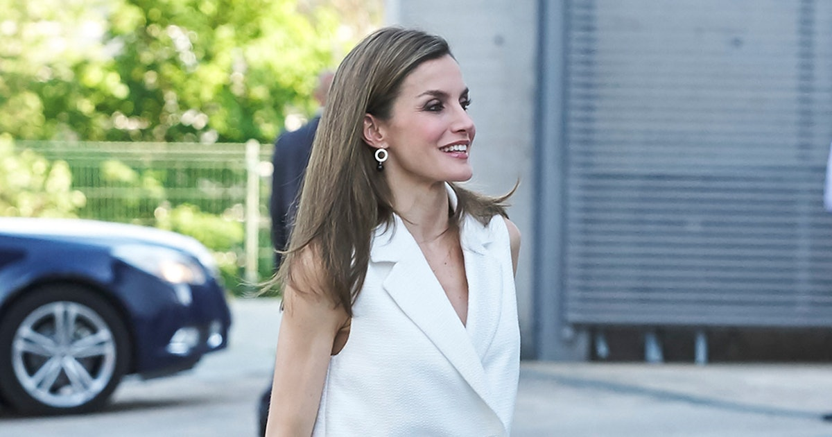 0998760af45 Queen Letizia s Style Calls On These  120 Steve Madden Heels (  They Go  With Everything)