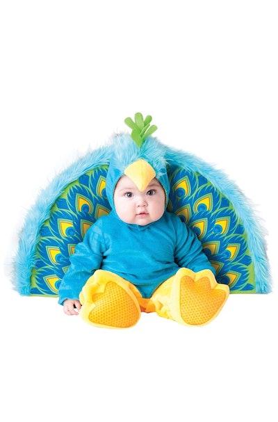 InCharacter Precious Peacock Baby Costume