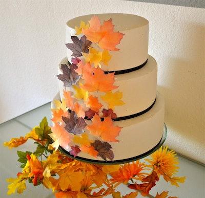 Sugar Robot Inc Edible Fall Leaves