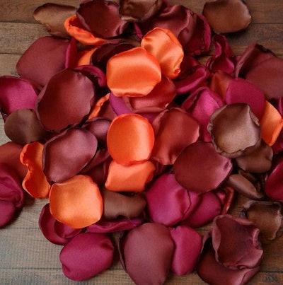 Fall Rose Petals