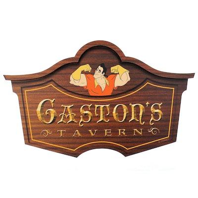 Gaston's Tavern Sign