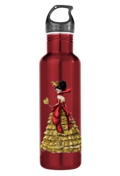 Queen Of Hearts Water Bottle