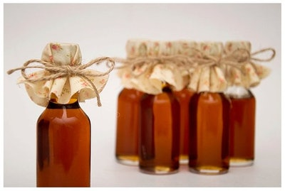 50 Fall Wedding Syrup Bottles