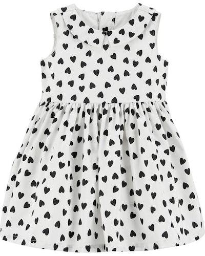 Heart Bow Holiday Dress