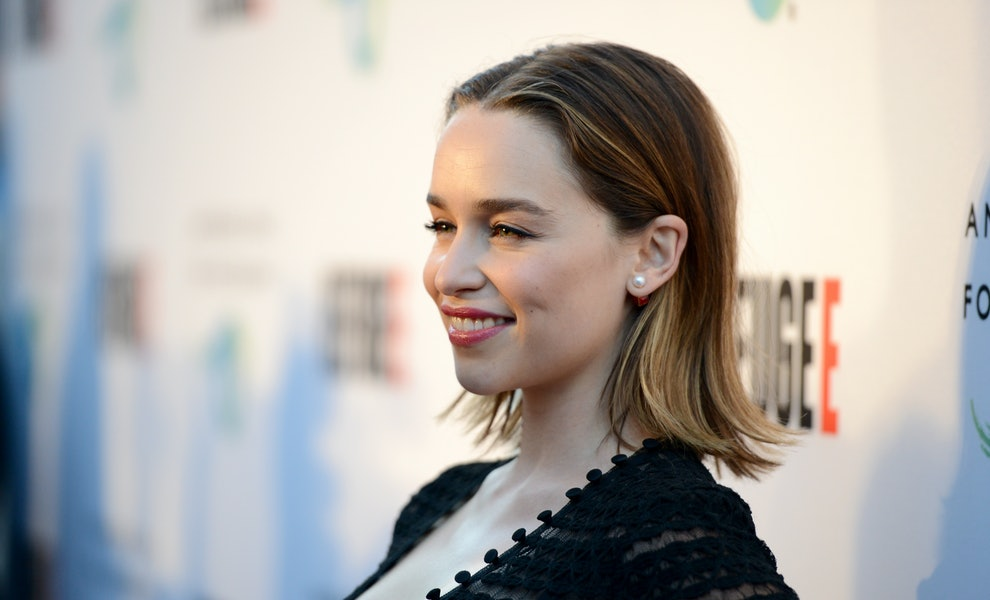 Emilia Clarkes New Haircut Will Make You Want To Chop All Of Your