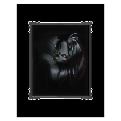 """""""Villain Cruella"""" Deluxe Print"""