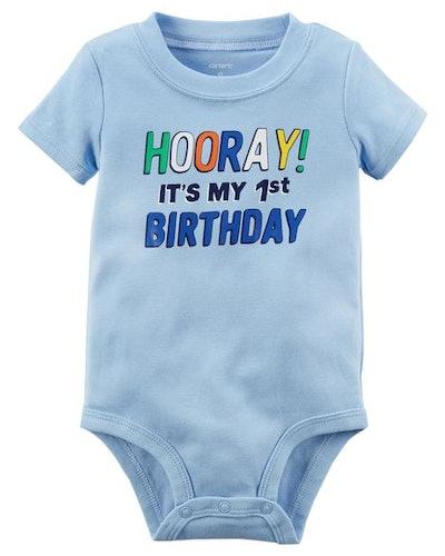 1st Birthday Collectible Bodysuit