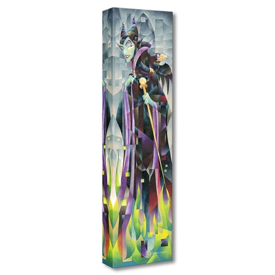 """Maleficent """"Flames Of Maleficent"""" Giclée On Canvas"""