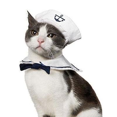 Namsan Cat Navy Sailor Costume