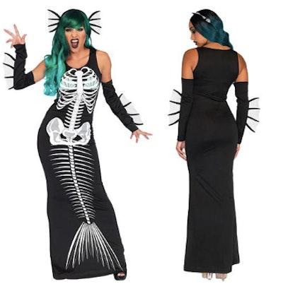 Skeleton Siren Costume