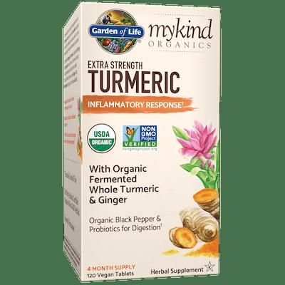 Garden of Life® x mykind Organics Extra Strength Turmeric Inflammatory Response