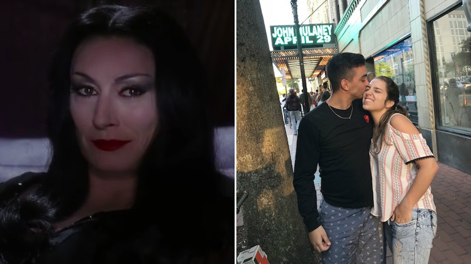 I Flirted Like Morticia Addams For A Week Heres What My Boyfriend Had To Say