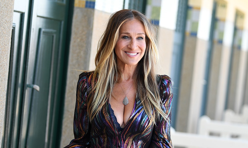 Sarah Jessica Parker's Ponytail Was The Low Key Star Of Her