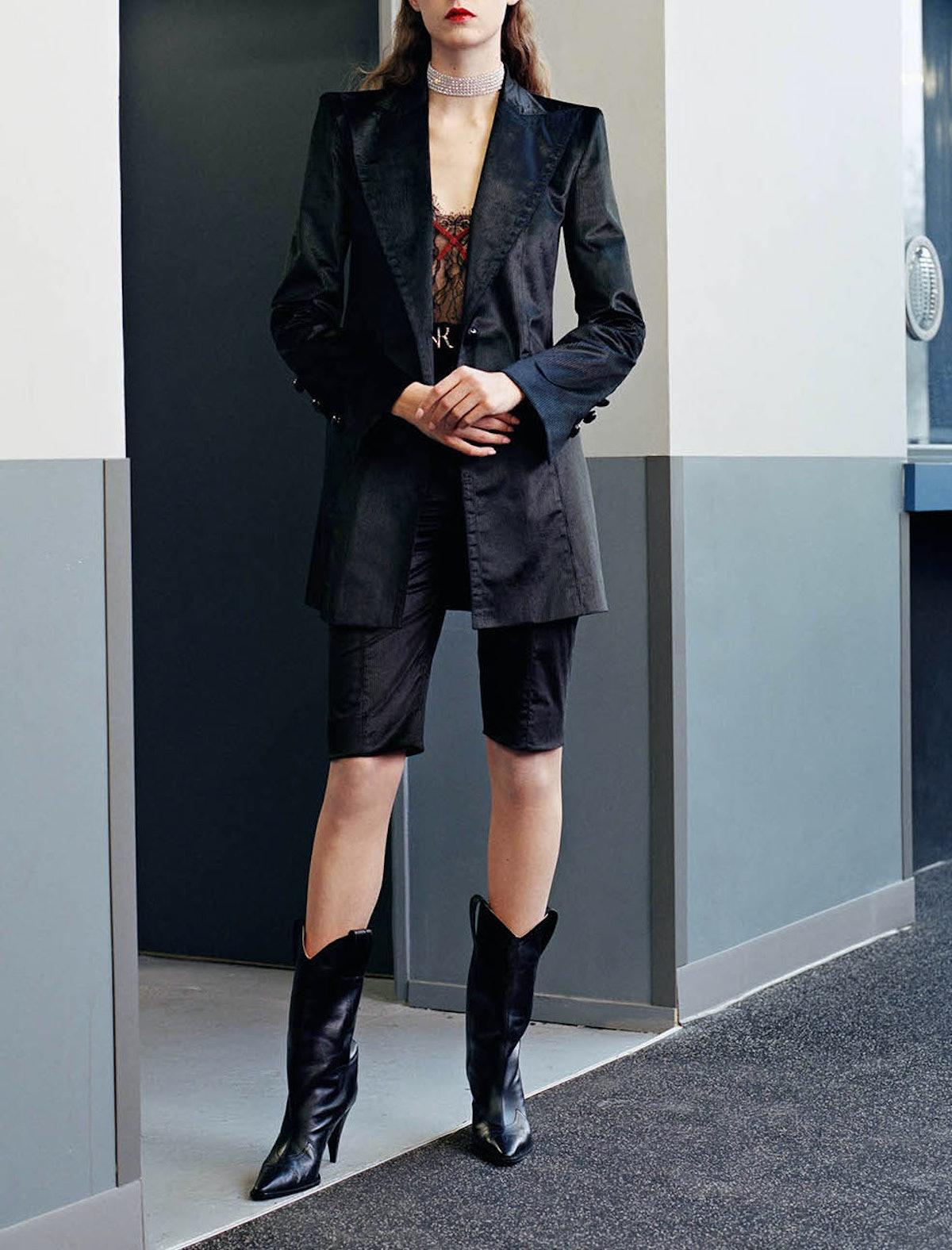 Tailored Corduroy Blazer