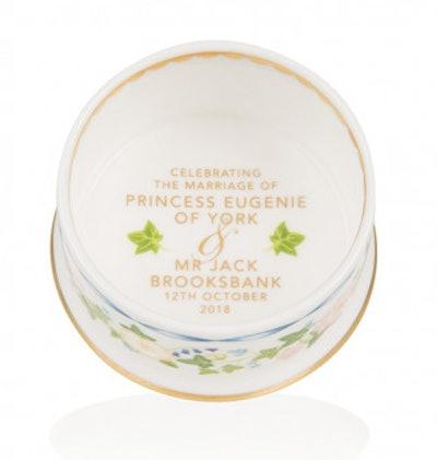 Princess Eugenie & Mr. Jack Brooksbank Royal Wedding Pillbox