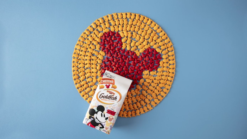 These Mickey Mouse Goldfish Ers Shaped Like Ears Are Seriously Adorable