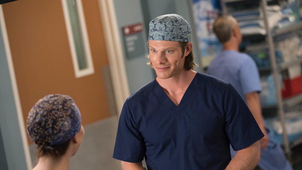 Will Meredith Linc Date On Greys Anatomy The Season Premiere