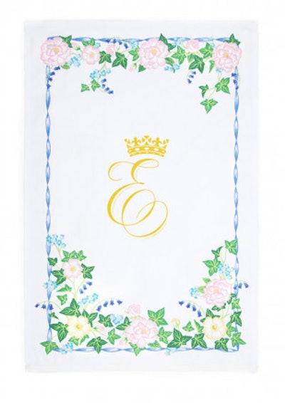 Princess Eugenie & Mr. Jack Brooksbank Royal Wedding Tea Towel