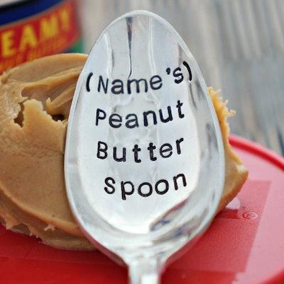 Personalized Peanut Butter Spoon