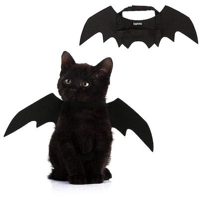Youbedo Halloween Cat Bat Wings Costume