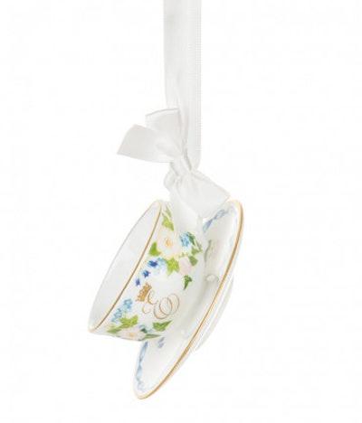 Princess Eugenie & Mr. Jack Brooksbank Royal Wedding Miniature Teacup & Saucer