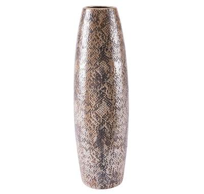 Snake Skin Floor Vase