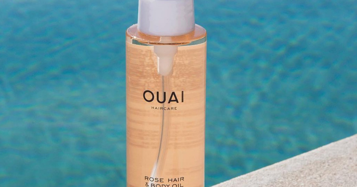 OUAI's Rose Hair & Body Oil Will Help You Get The Glass Hair Trend In A Subtle Way