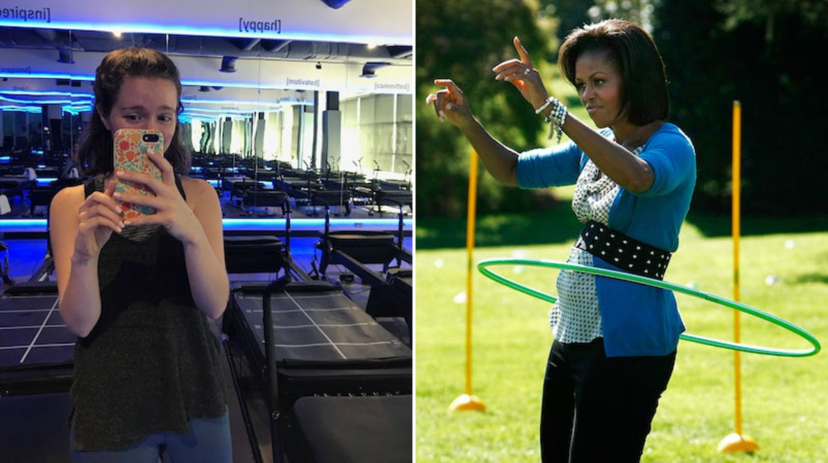 I Tried Michelle Obama's Favorite Workout Class & FLOTUS Fitness Is No Joke, Guys