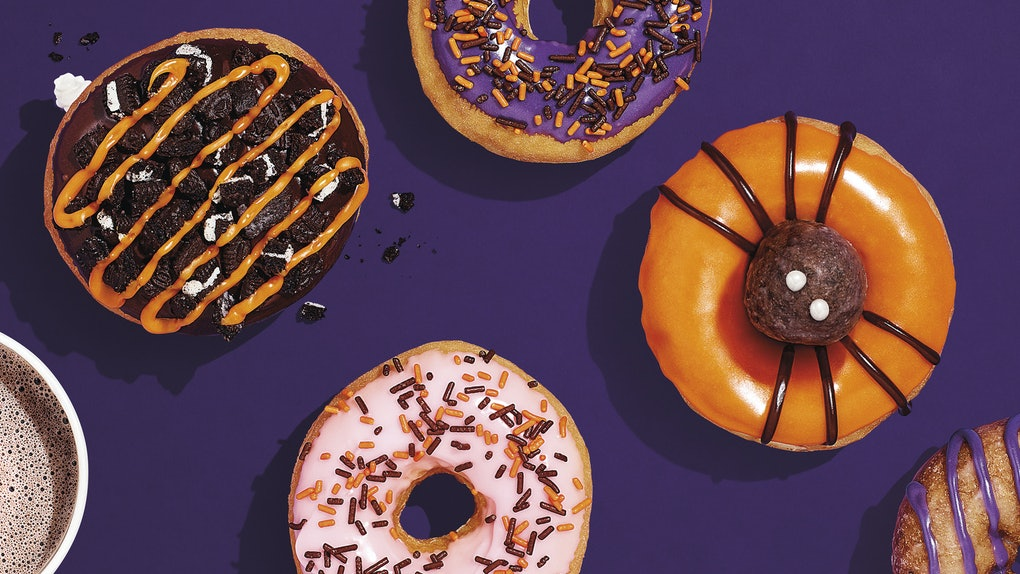 Dunkin Donuts Halloween Donuts 2020 How Long Will Dunkin' Donuts Halloween Donut Be Available? There's