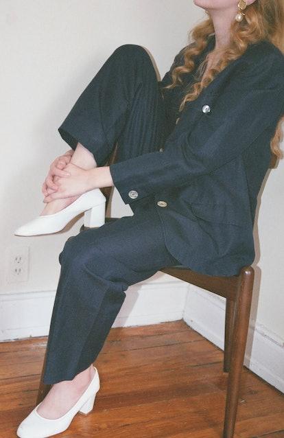 Linen Blend Suit