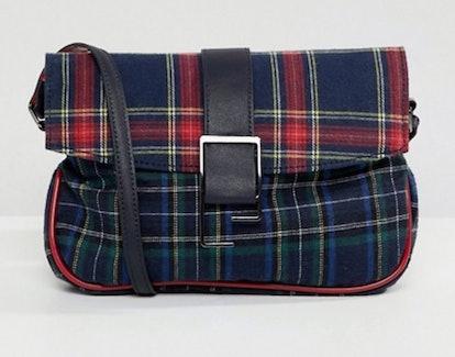 ASOS DESIGN 90s check shoulder bag