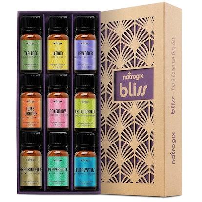 Natrogix Bliss Essential Oils, 10 ml (9 Pack)