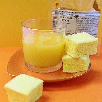 Turmeric Orange Marshmallows