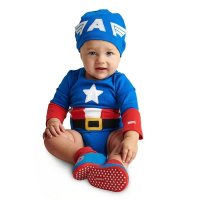 Captain America Costume Bodysuit Collection for Baby