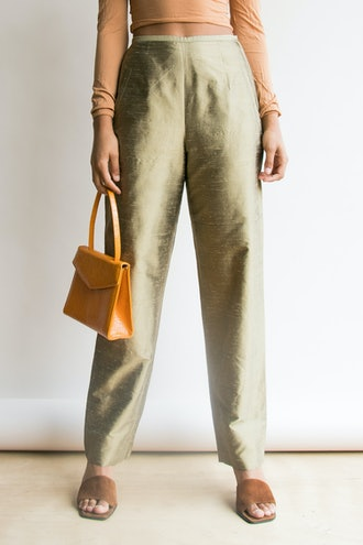 Liquid Bronze Trousers