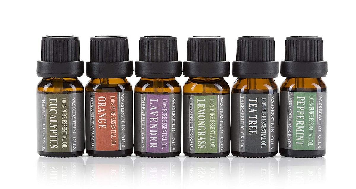 Wasserstein Pure Essential Oil Set, 10 ml (6 Pack)