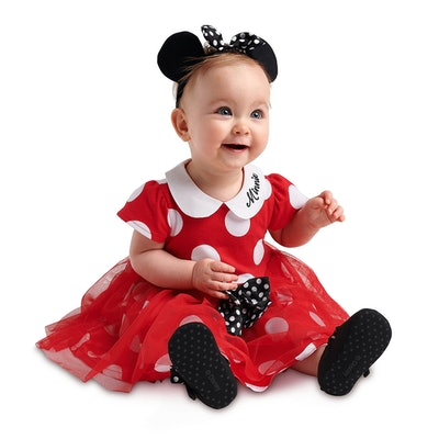 Minnie Mouse Costume Collection for Baby - Red