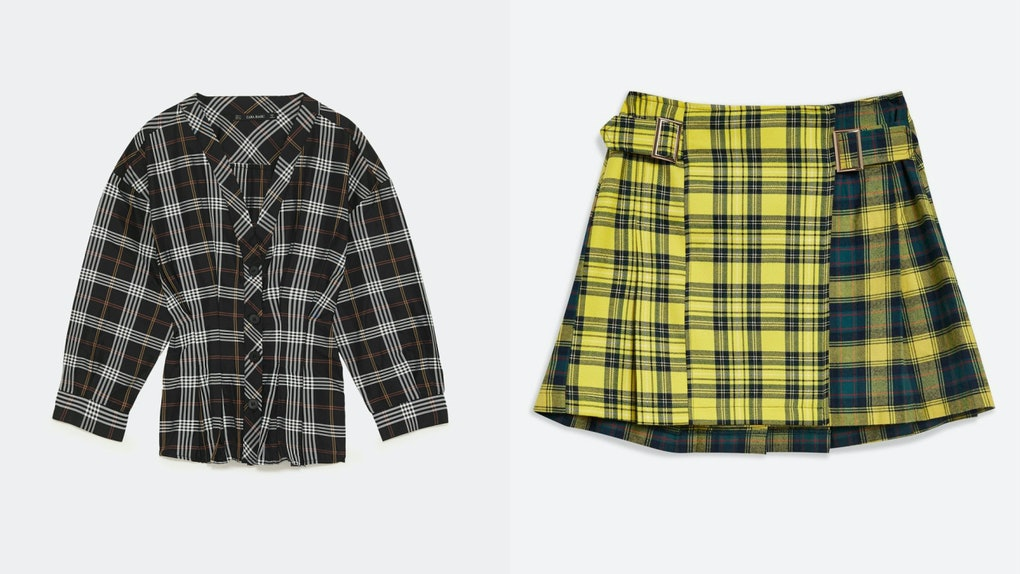 e578f9c765 The Best Fall 2018 Plaid Pieces Under $100, Because Being Clueless ...