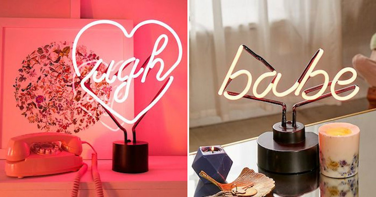8 Neon Signs To Buy That Ll Make Your Dorm Room Look Lit