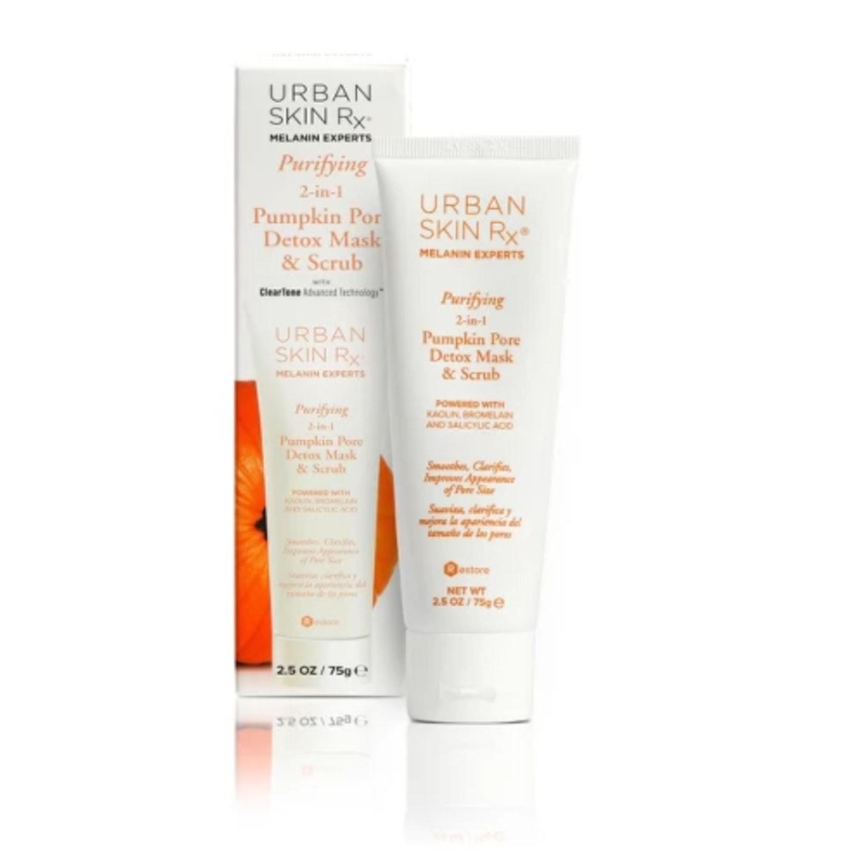Urban Skin Rx Purifying Pumpkin Pore Detox Mask And Scrub