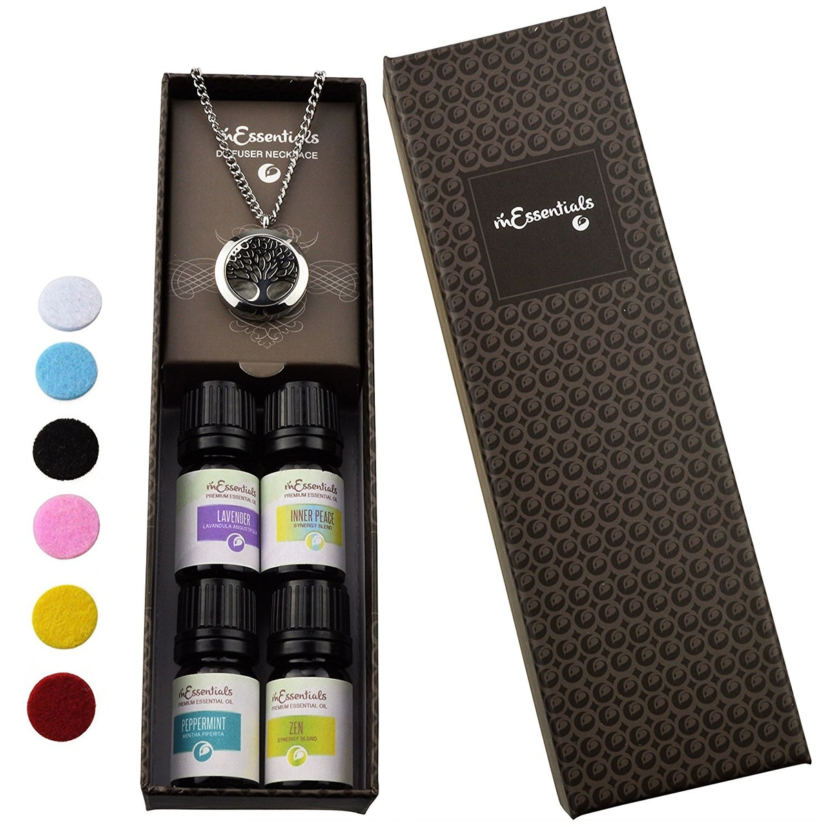 mEssentials Essential Oil Gift Set, 5 ml (5 Pack)