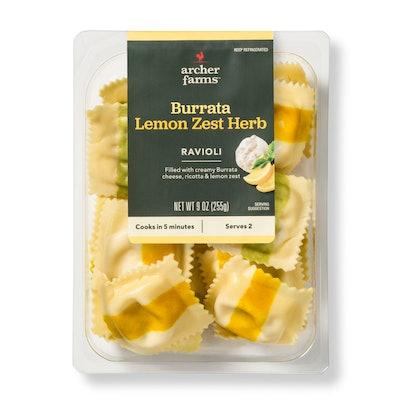 Archer Farms Burrata Lemon Zest Herb Ravioli